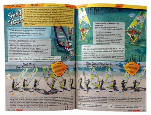 Heli track windsurfen leren boek