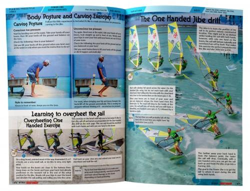 leer de power jibe windsurfen boek