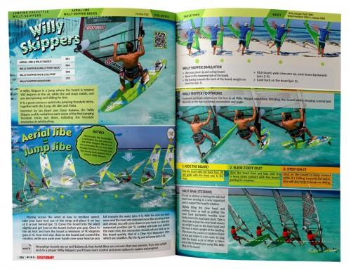 windsurftricks leren windsurfboek