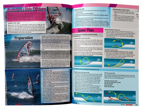 golf windsurfen leren boek Tricktionary3