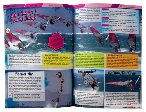 Hoge sprongen windsurfen boek