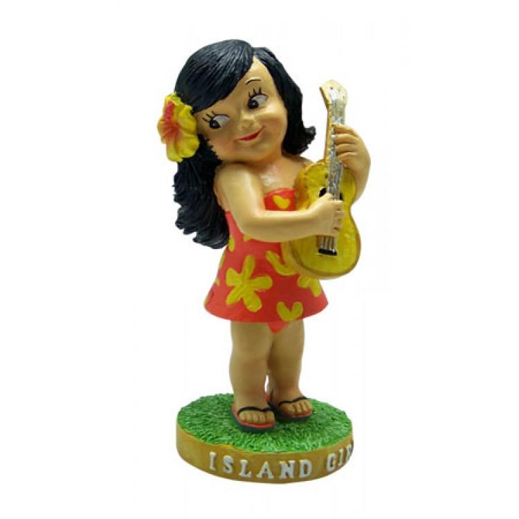 Dashboard Hula Doll – Keiki Island Girl - perfect wind