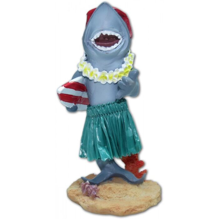 Haai met Surfboard Hula Dashboard Doll
