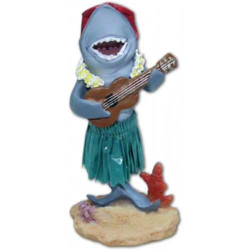 Haai met Ukulele Dashboard Doll