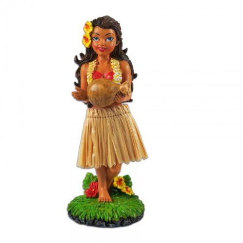 Hinu Ipu Dashboard hula doll