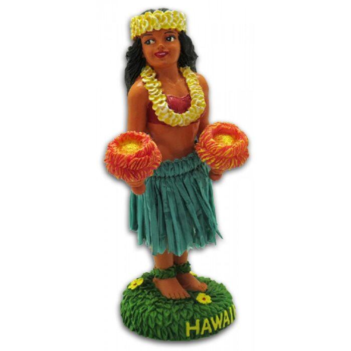 Hula Girl Kinohe Dashboard Doll