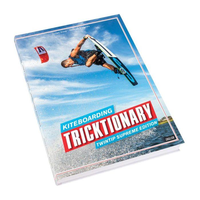 Tricktionary kitesurfboek voor zowel beginners als gevorderde