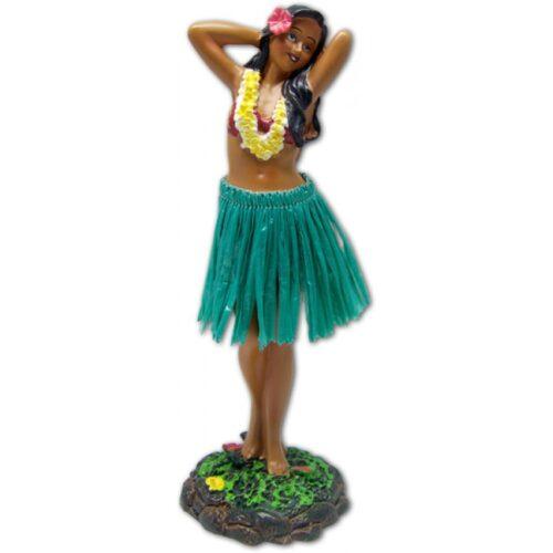 Leilani Dashboard Doll - Poseert bloem met groene rok
