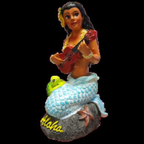 Napua Mermaid Dashboard Hula Doll