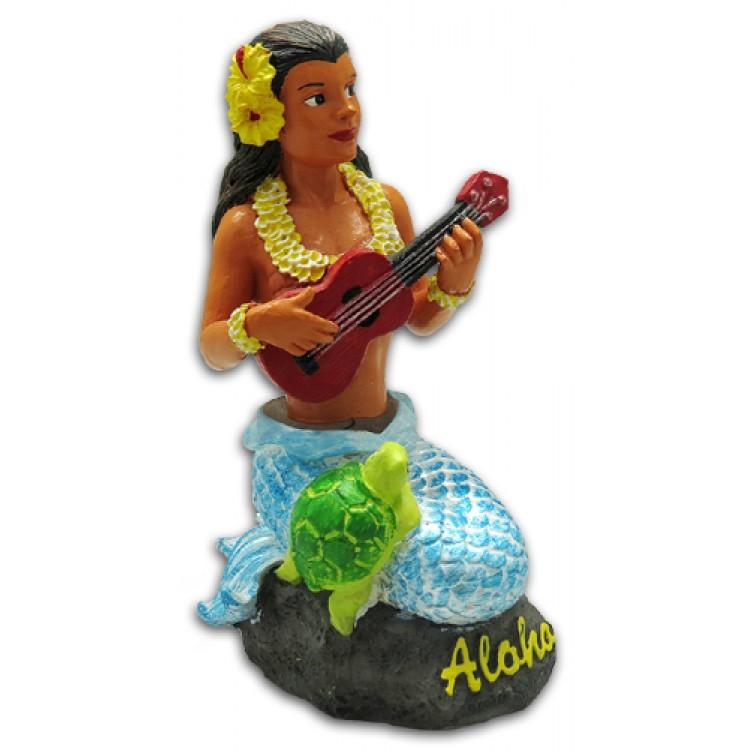 Napua zeemeermin Dashboard Hula Doll