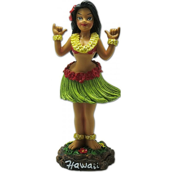 Shaka Girl - Dashboard hula Doll - Hang loose