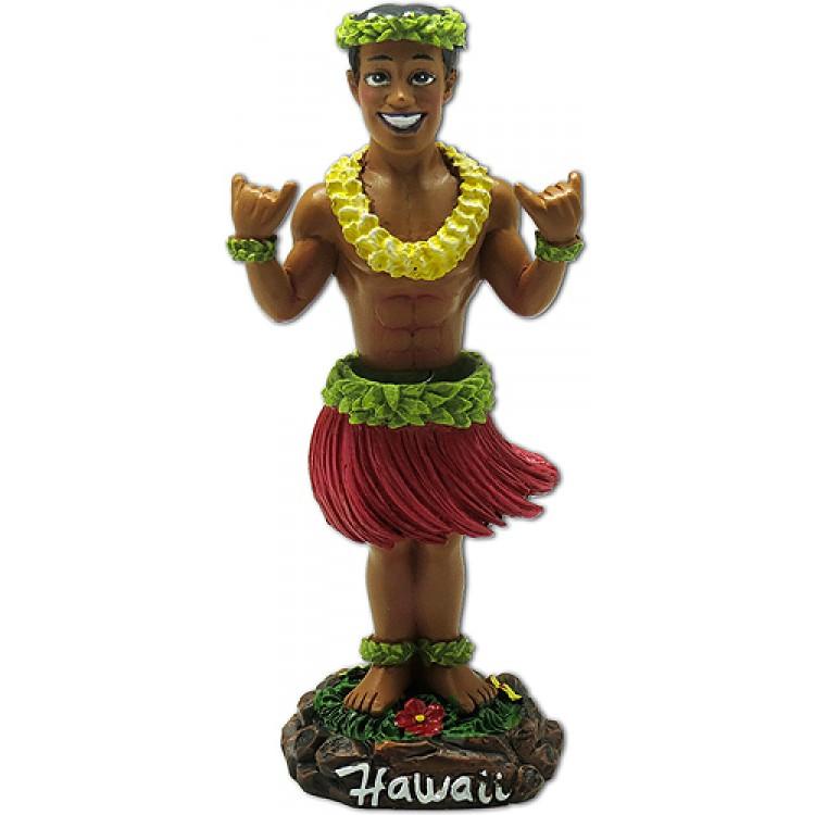 Shaka Man - Hang loose - Dashboard hula poppetje