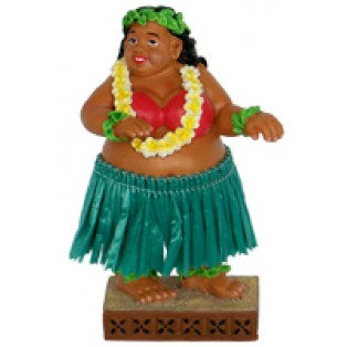 Sweet Wahine Dashboard hula poppetje - perfect wind