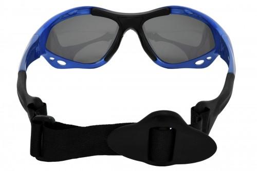 Classic Azure watersport zonnebril achterkant