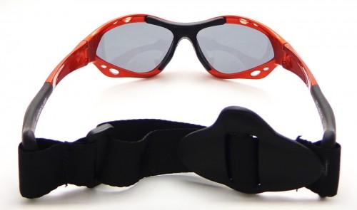 Classic Copper Blaze specs zonnebril achterkant