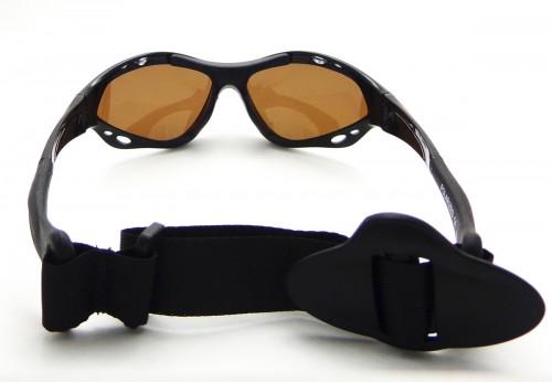 Classic Sunset specs watersport Polarized zonnebril achterkant