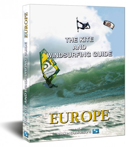 The kite and windsurfing guide Europa boek