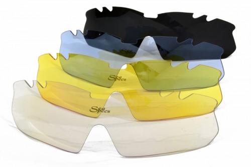 cycler fiets zonnebril alle lensen Seaspecs