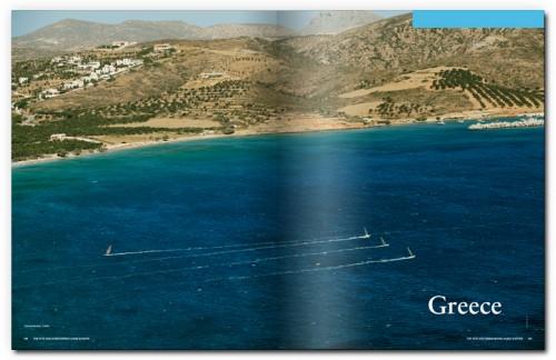 greece windsurfen boek