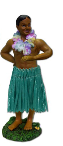 Dashboard Doll – Leilani Hula Man