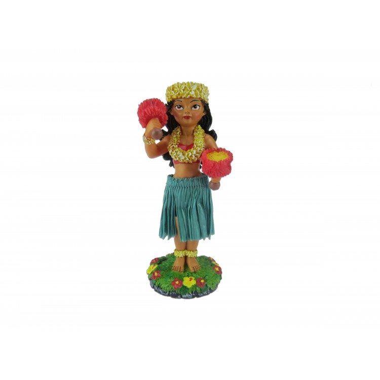 Hula Doll Halani dashboard poppetje