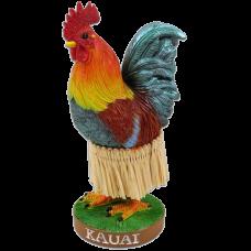 Kauai Chicken Dashboard hula Doll