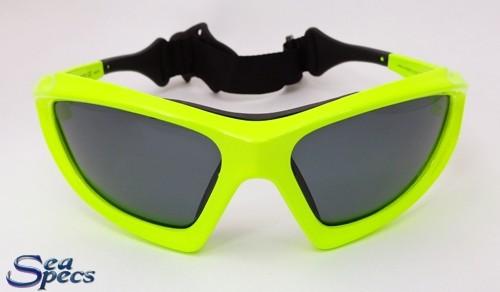 stealth neon Seaspecs voorkant zonnebril