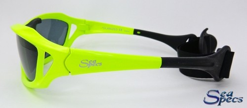 Stealth Neon Seaspecs zijkant zonnebril watersport