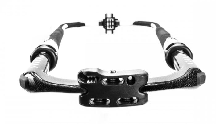 Carbon PP Oval Monocoque 200 - 260 Wide Tail LE achterkant